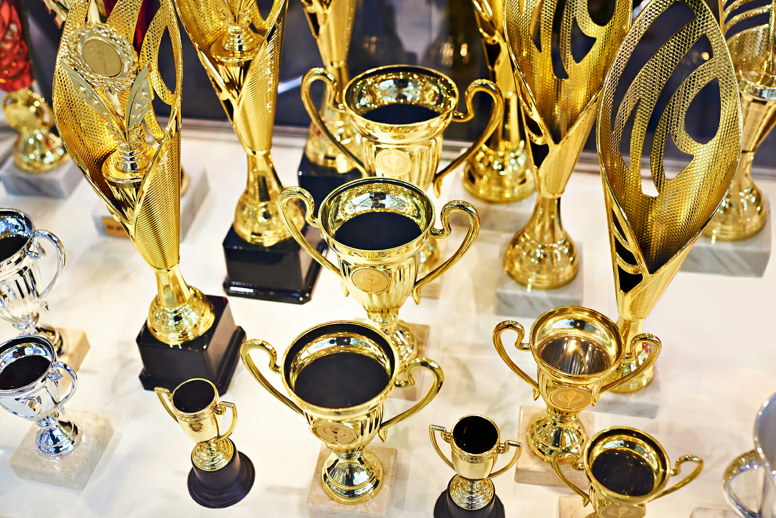 The Award Display Case - Home of Iconic Awards and Trophies